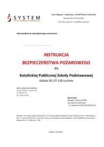 instrukcja ppoż, ppoż, firma ppoż, szkolenia ppoż